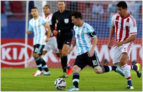 Aunque Messi lo intentó, Argentina empató con Paraguay