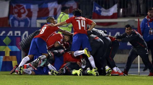 Chile festeja