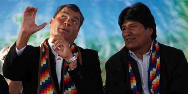Evo y Correa