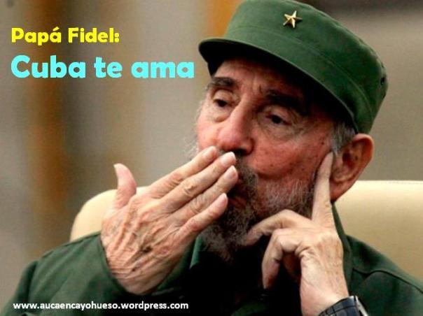 Fidel te amamos