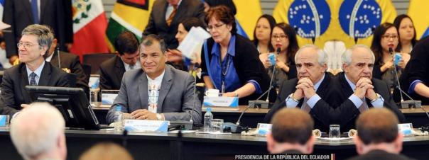 Rafael Correa en Conferencia Internacional sobre Desarrollo Sostenible 2