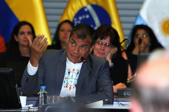 Rafael Correa en Conferencia Internacional sobre Desarrollo Sostenible