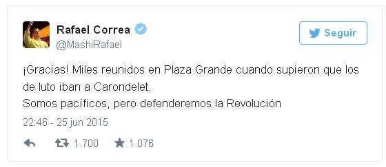 Twitt Correa