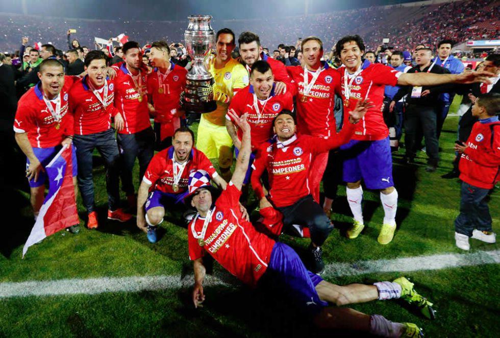 Chile Campeón de la Copa América 2015
