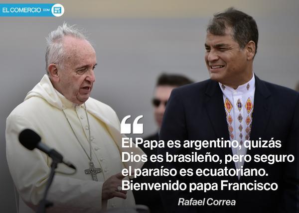 Discurso de Rafael Correa