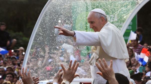 Papa Francisco en Paraguay