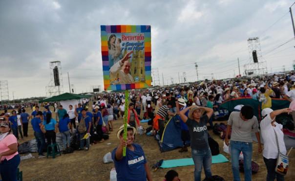 En el Parque Samanes se espera al Papa Francisco
