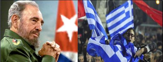 Fidel felicita victoria de Grecia