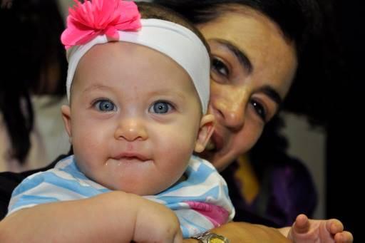 Gema y su mamá Adriana