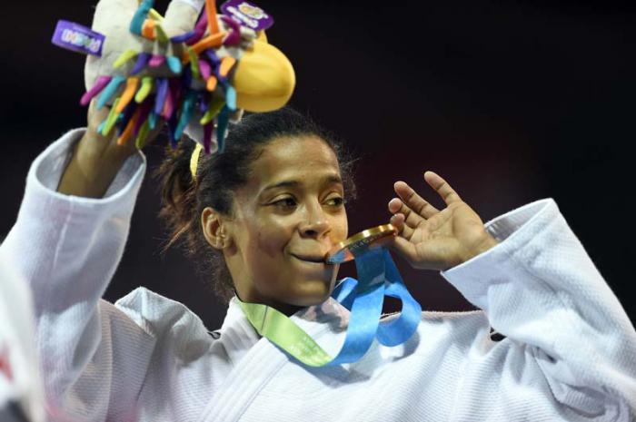 La judoca Dayaris Mestre se adueñó de los 48 kg