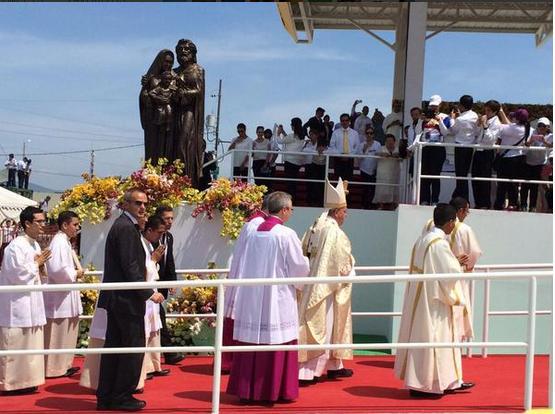 Misa del Papa en Samanes, Guayaquil 1