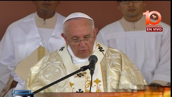 Misa del Papa en Samanes, Guayaquil