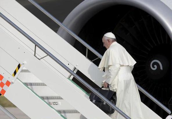 Papa Francisco camino a Ecuador 2