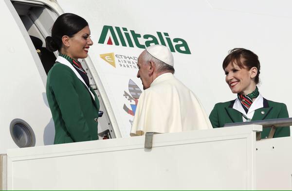 Papa Francisco camino a Ecuador 3