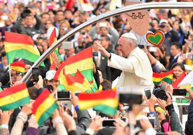 Papa Francisco en Bolivia 3