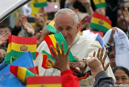 Papa Francisco en Bolivia