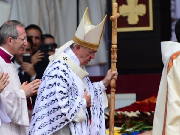 Papa Francisco en el Parque Bicentenario