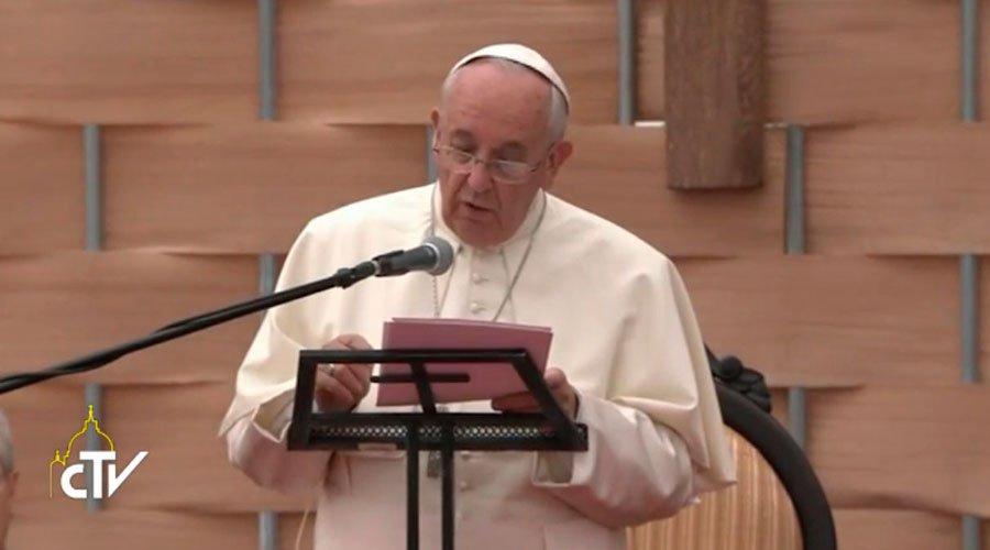 Papa Francisco en la Universidad Católica