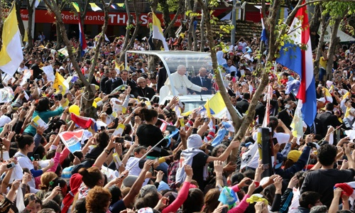Papa Francisco en Paraguay 2