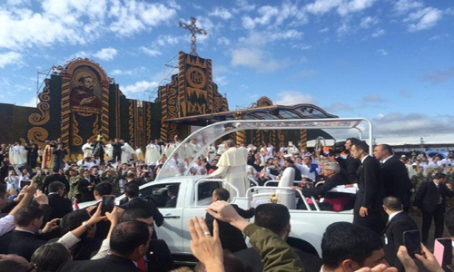 Papa Francisco en Paraguay 5