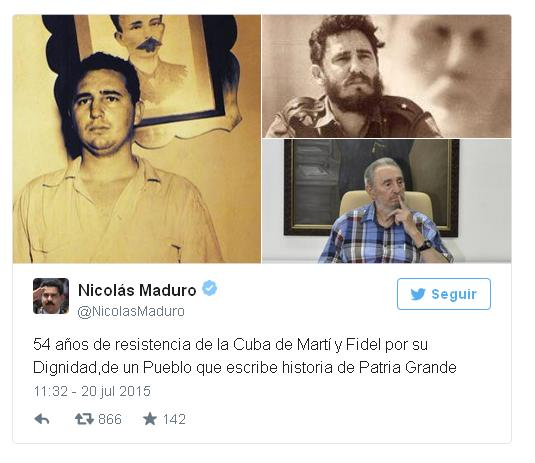 Tweets Maduro 2