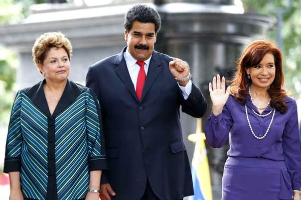 Dilma, Maduro y Cristina