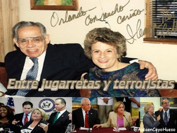 Ileana Ross entre jugarretas y terroristas