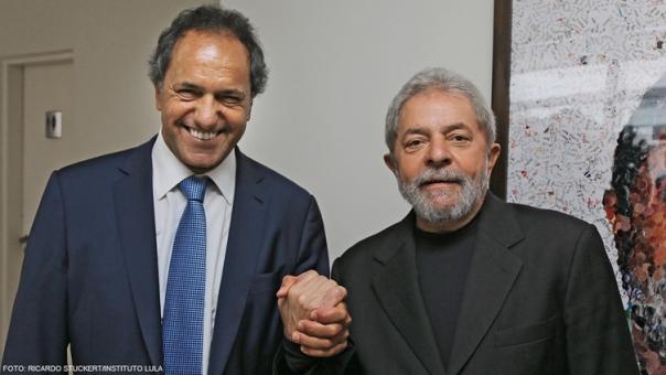 Lula y Scioli