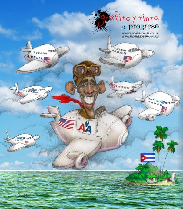 Obama quiere viajar a Cuba