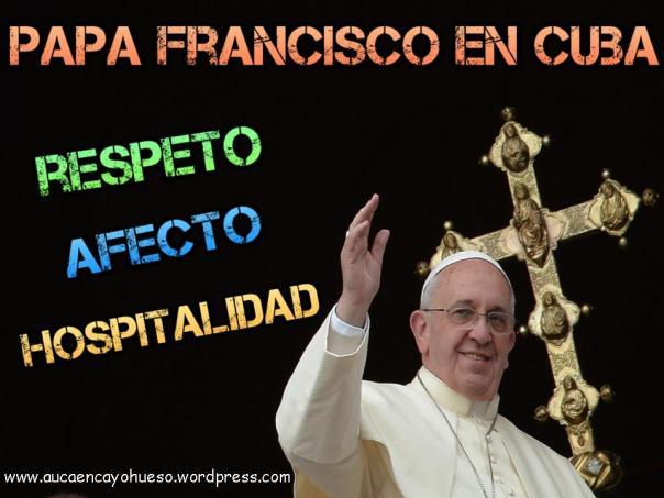 Papa Franciso en Cuba