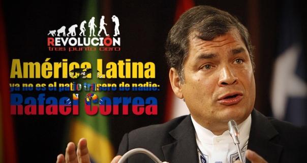 Rafael Correa en Ecuador