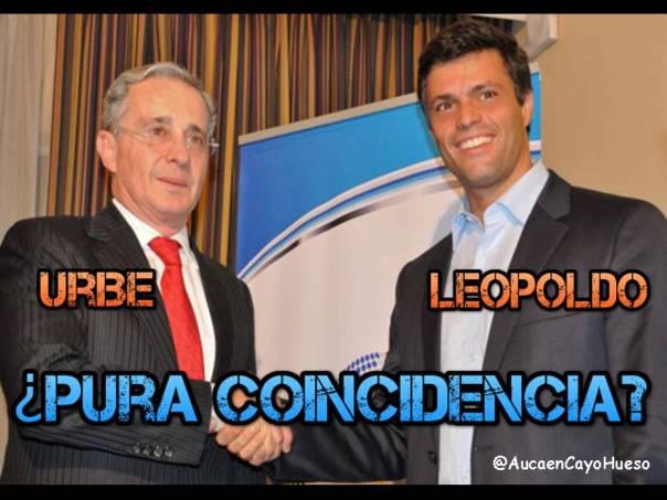 Uribe y Leopoldo, Pura coincidencia