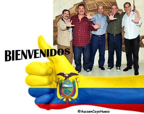 5 Heroes Bienvenidos a Ecuador
