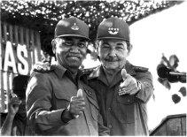 Almeida junto a Raúl