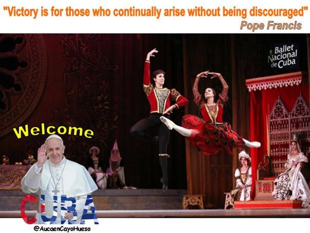 Bienvenido Papa Francisco 2