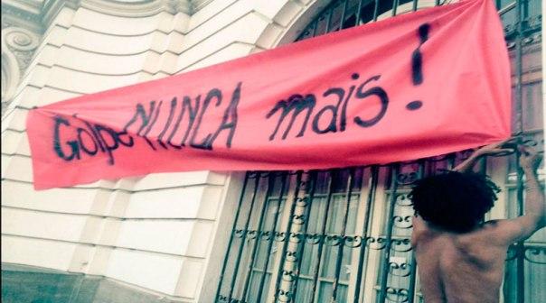 Brasil No al Golpe de Estado