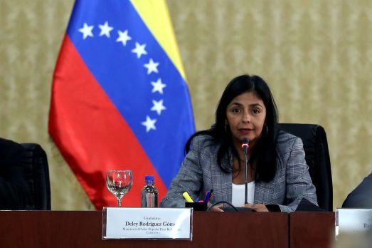 Canciller Venezuela Delcy Rodríguez