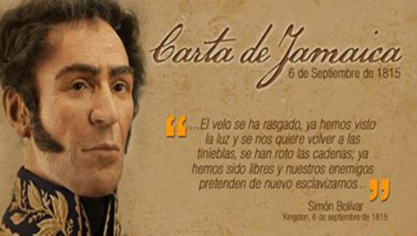 Carta de Jamaica Bolívar