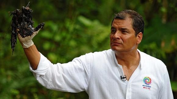 Correa en denuncia Caso Chevron en Ecuador