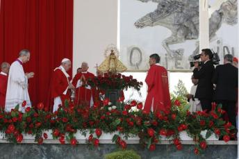 Misa del Papa Francisco en Holguín