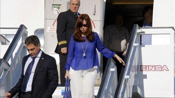 Cristina Fernández en Cuba 2