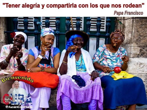 Cuba alegre espera al Papa Francisco 1