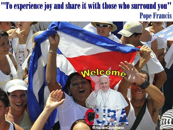 Cuba alegre espera al Papa Francisco 2