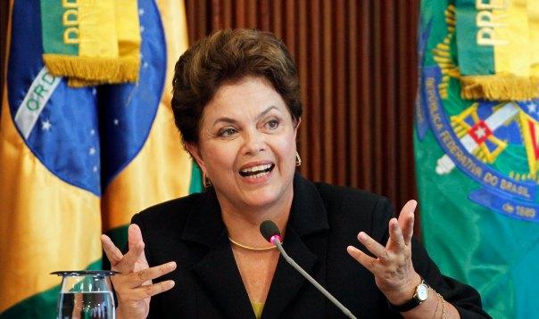 Presidenta Brasil Dilma Rouseff