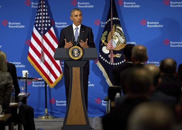 Encuentro Obama y empresarios en Washington