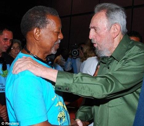 Fidel Castro y Lucius Walker 1