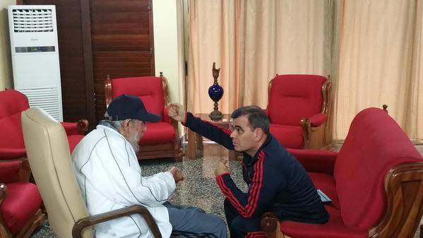 Fidel Castro y Vladimir Padrino López 2
