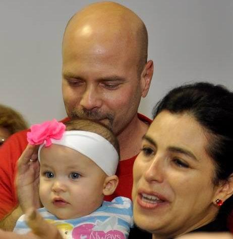 Gema con Gerardo y Adriana