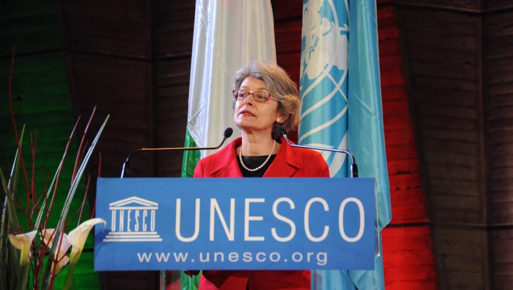 Irina Bokova Unesco