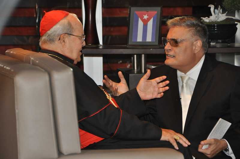 Jaime Ortega y Amaury Pérez